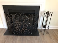 New fire  place equipment