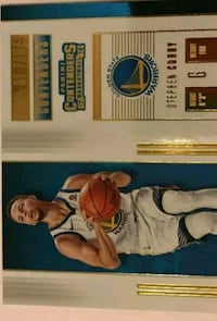 Stephen Curry Golden State Warriors trading card Lakewood, 90712