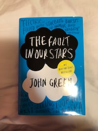 The fault in our stars by john green book Toronto, M1B 4G3