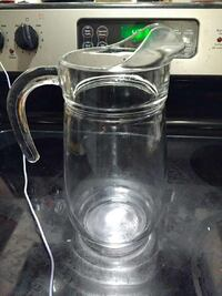 10 inch tall juice pitcher