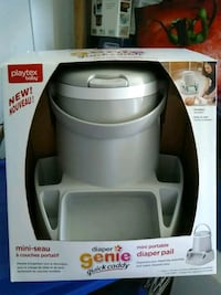 BNIB New Diaper Genie quick caddy small