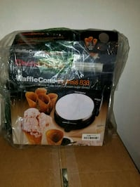 Waffle cone maker chefs choice 838 Henderson, 89012