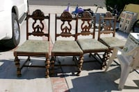 1920s chairs vintage Los Angeles, 91344