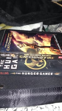 The Hunger Games and Catching Fire paper cover books  London, N5X 2R9