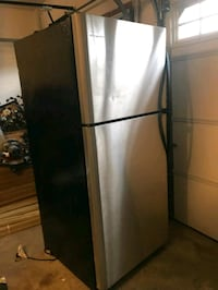 gray top-mount refrigerator 31 km
