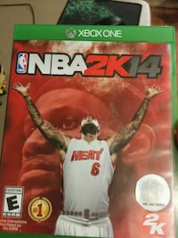 NBA 2K14 Xbox One game With Disc Charles Town, 25414