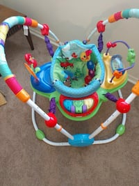 baby's blue and green jumperoo Gaithersburg