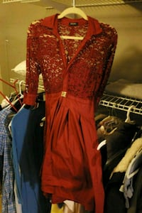 Medium red vintage dress  Emmaus, 18049