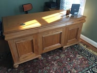 Executive Oak Desk Sterling, 20165