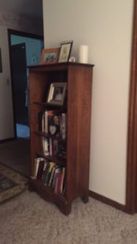 Brown wooden 3-layer shelf Ocala, 34471