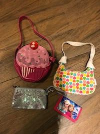 Little Girl Purses x 3