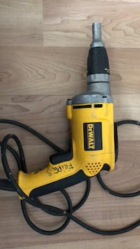 yellow and black Dewalt corded power drill Toronto, M6E 2G7