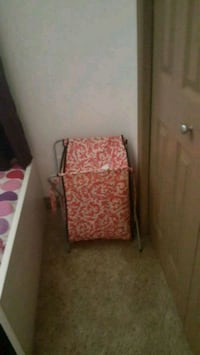 brown and red floral folding chair Chestermere, T1X 1S5