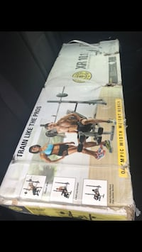 Gold's Gym XR 10.1 Adjustable Weight Bench With Storage NEW IN BOX