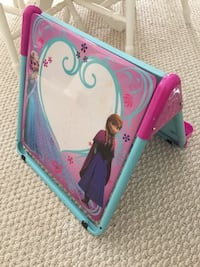 teal and pink Disney Frozen a-framed stand Waterloo, N2J 4G8