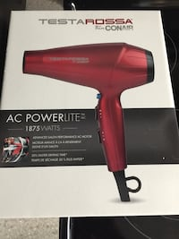 red Testa Rossa by Conair hair dryer box Maple Ridge, V2X 0R3