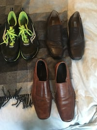 pair of brown leather cowboy boots Vancouver, V6B 2G4