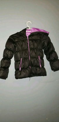 black and pink bubble jacket Calgary, T2Y 4E5