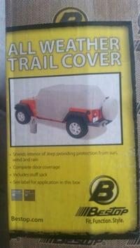 Bestop All Weather Trail Cover Suffolk
