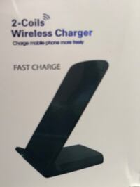 2 coils wireless fast charge