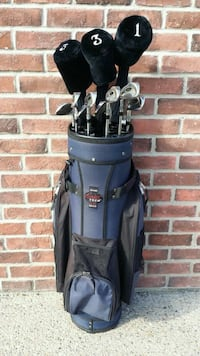 FULL GOLF CLUB SET WITH BAG & SOME ACCESSORIES!! Edmonton, T6R 3L6