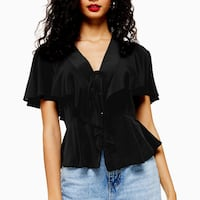 nwt Topshop  Blouse 6 -FREE SHIP Burnaby