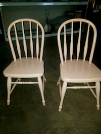 Girls wooden Pottery Barn Chairs McLean, 22101
