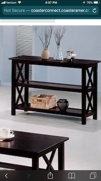 Sofa table brand new in box deal!! Charlotte, 28204