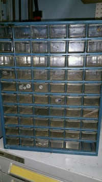 Nuts and bolts and screw organizer