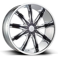 28 inch borghini wheels with tires fits 6 luck Chevy Cadillac gmc  Lincoln Park, 48146