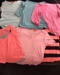 Ladies shirts sizes XS-M London, N6L