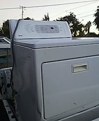 white front-load clothes dryer Stockton, 95205