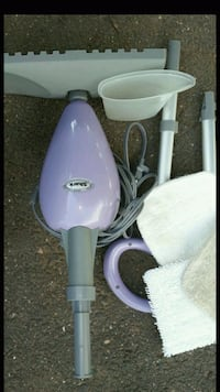 purple and white electric steamer East Hartford