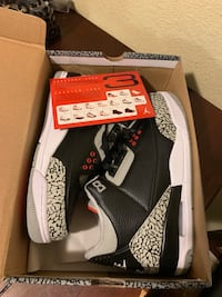 Jordan 3s cement black size 8.5 & 9.5 Lakewood, 80228