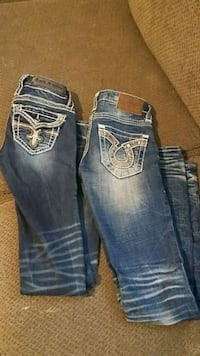 blue-washed Rock Revival jeans Redding, 96003