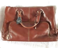 Leather Briefcase Montreal, H8N