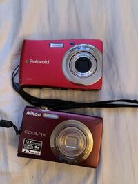 red Nikon COOLPIX point-and-shoot camera 29 mi