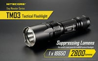 NITECORE TM03 Tactical Flashlight 2800 Lumens Vancouver, V5P