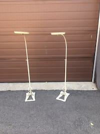 Wrought iron stands used