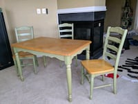Kitchen table 4 chairs Leesburg, 20176