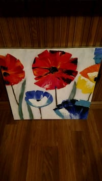 Canvas paintings $5 each or $15 for set 424 mi