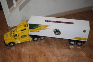 Vintage 4-Foot Semi Truck & Trailer RC