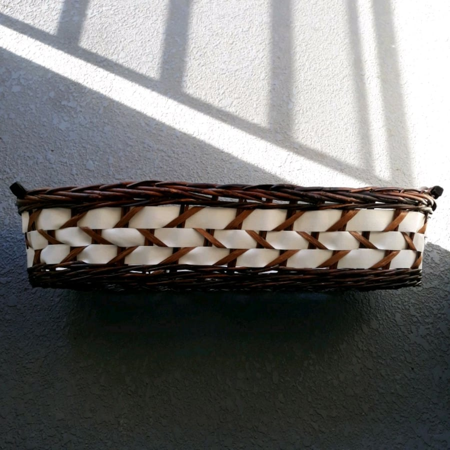 Wicker Basket 32 inches Long