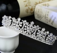 Bridal Tiara- Brand new never used  525 km