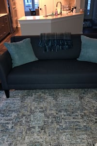 "Crate and barrel couch and loveseat 80 and 72"" -"