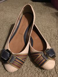 Flats, size 7.5, real leather! Norman, 73071