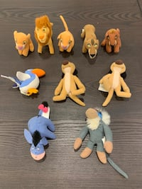 Mini Lion King 2 Stuffed Toy Collection (and Eyore)