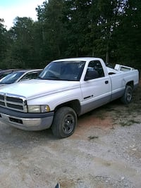 white Dodge Ram 1500 extra cab pickup truck Lexington, 27295
