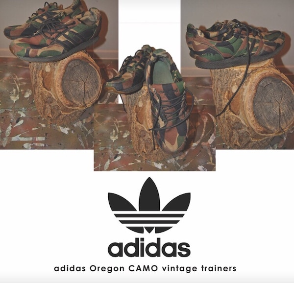 fe119451cf3 Original retro Adidas Oregon CAMO low top shoes. HomeFashion and  Accessories Richmond Hill