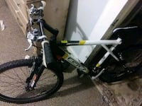 black and white hardtail mountain bike Youngsville, 70592
